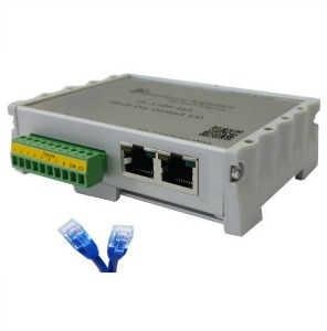 Long Distance, CAT5 Wired, Dry-Contact I/O, Peer To Peer Ready