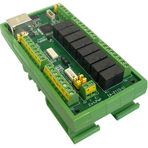 IA-2115-U Tiny, User Friendly, USB Controlled Dry-Contact I/O