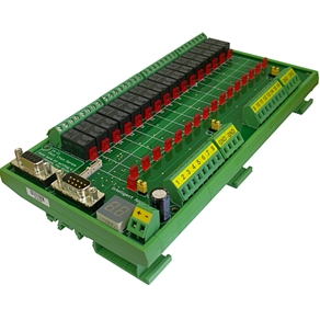 IA-3126-2 Intelligent 16 Relays Module